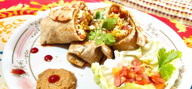 Veg Burritos Recipe
