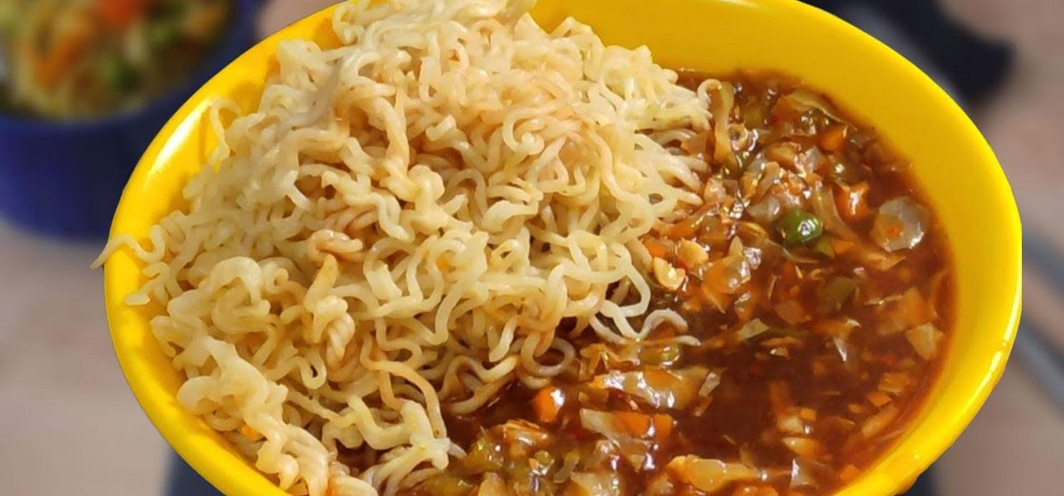 MAGGI Noodles with Vegetable Soup Recipe