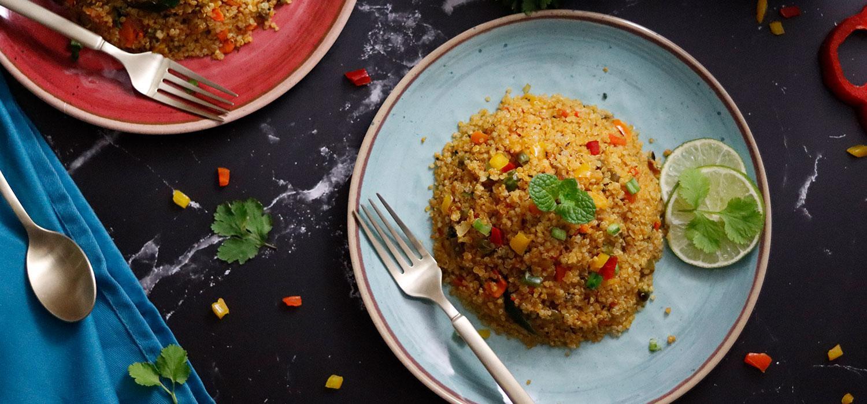 Qunioa Fried Rice Recipe