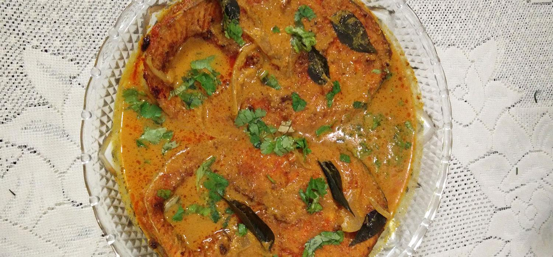 Manglorean Fish Mollee Recipe