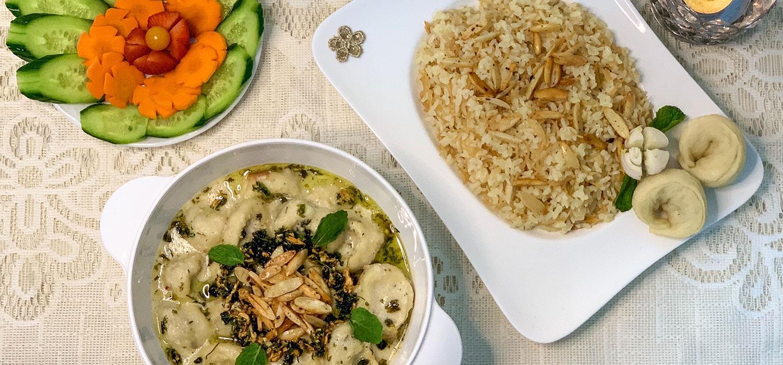 Minced Meat Tortellini In Garlic Yogurt Sauce Recipe