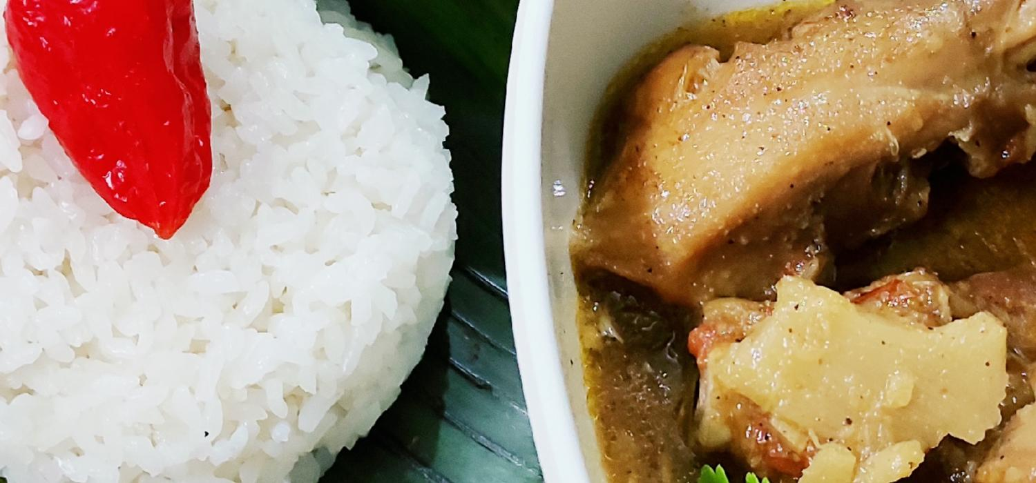 Chicken Stew with Bamboo Shoot