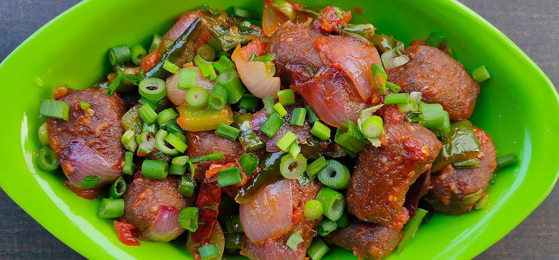 MAGGI Chilli Soya Nuggets Recipe
