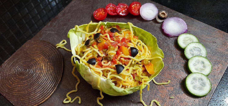 Cabbage Cuppa Tangy MAGGI Recipe