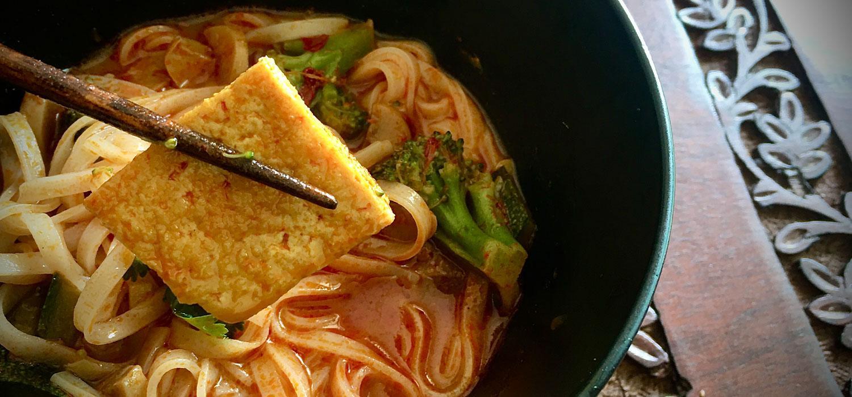Quick Fix Laksa Curry Noodles Recipe