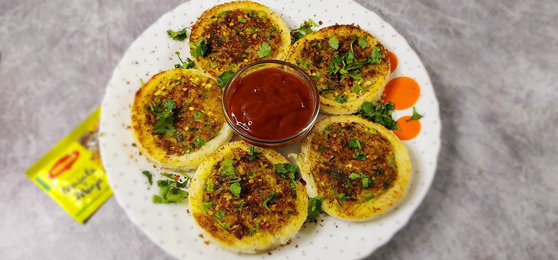 Masala-e-Bread Rings Recipe
