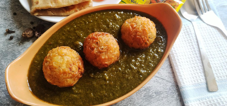 MAGGI Kofta in Palak Gravy Recipe