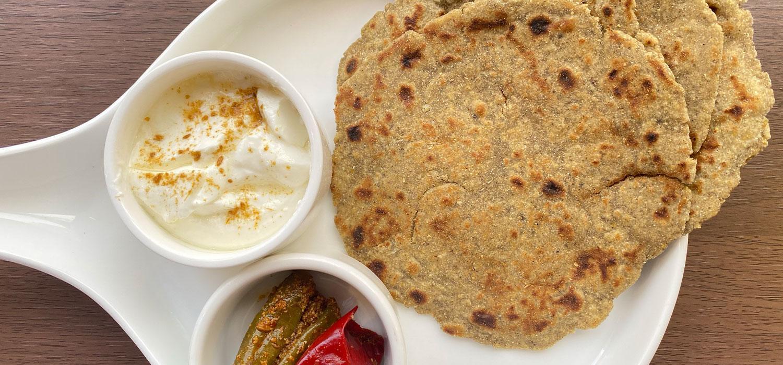 Bajra Mooli Paratha Recipe